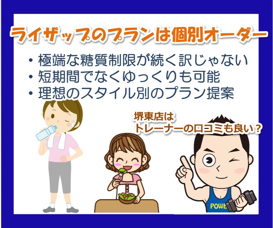 ライザップの堺東店