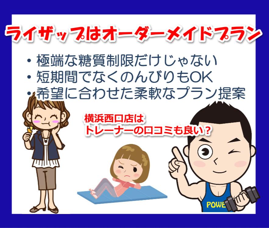 ライザップの横浜西口店
