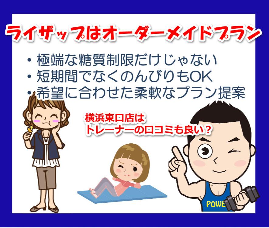 ライザップの横浜東口店